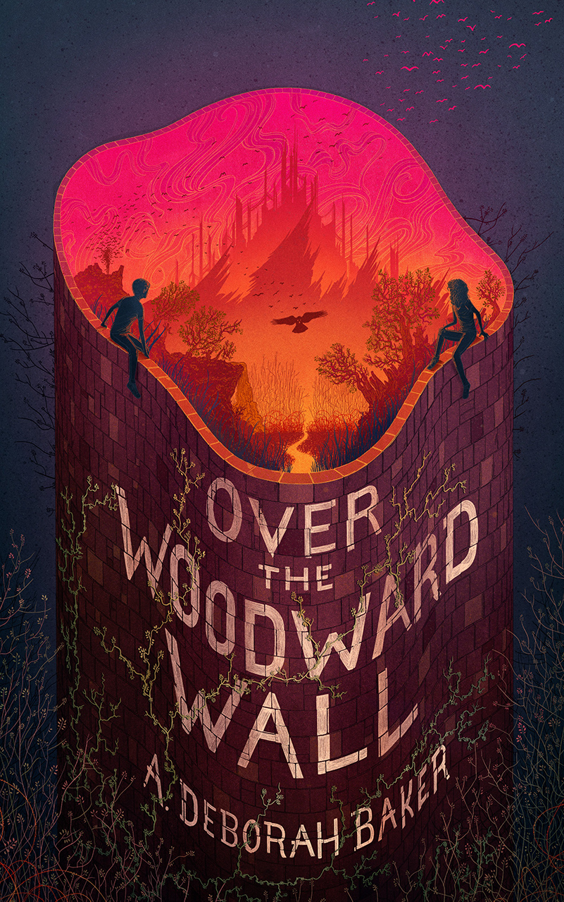 Cover of Over the Woodward Wall by A. Deborah Baker