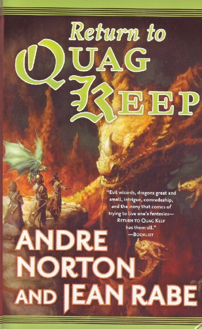 Blog Post Featured Image - A Collaborative Effort: Andre Norton's Return to Quag Keep