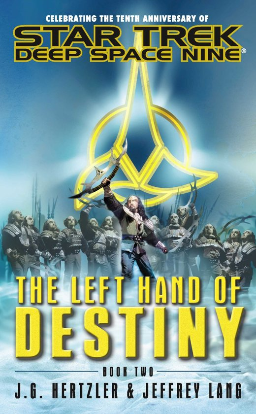 Blog Post Featured Image - Star Trek: Deep Space Nine Reread — The Left Hand of Destiny, Book Two