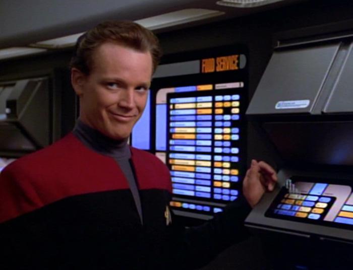 Tom Paris (Robert Duncan McNeill) in Star Trek: Voyager