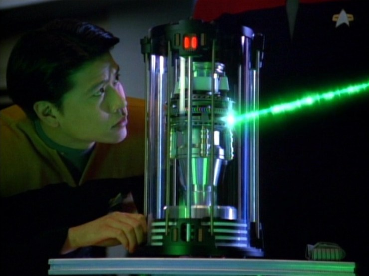 Harry Kim (Garrett Wang) in Star Trek: Voyager