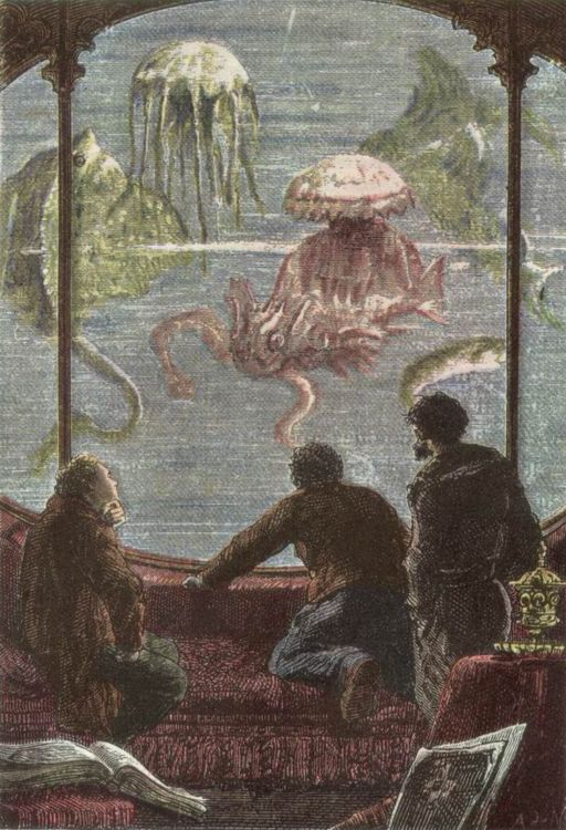 Illustration from Twenty Thousand Leagues Under the Sea