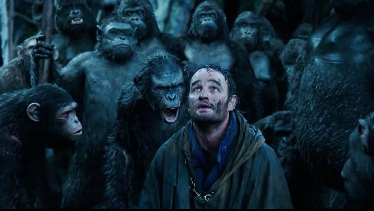 Malcolm (Jason Clarke) in Dawn of the Planet of the Apes