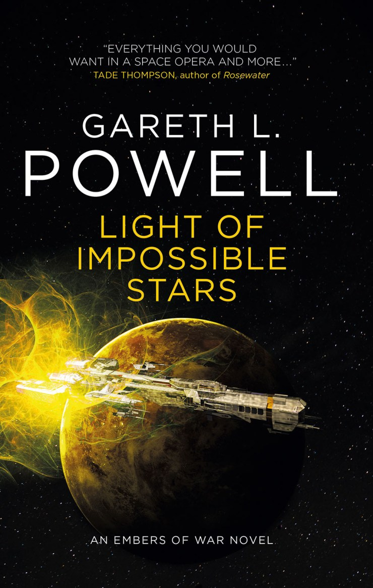 Blog Post Featured Image - Gareth L. Powell's Embers of War Trilogy Sweepstakes!