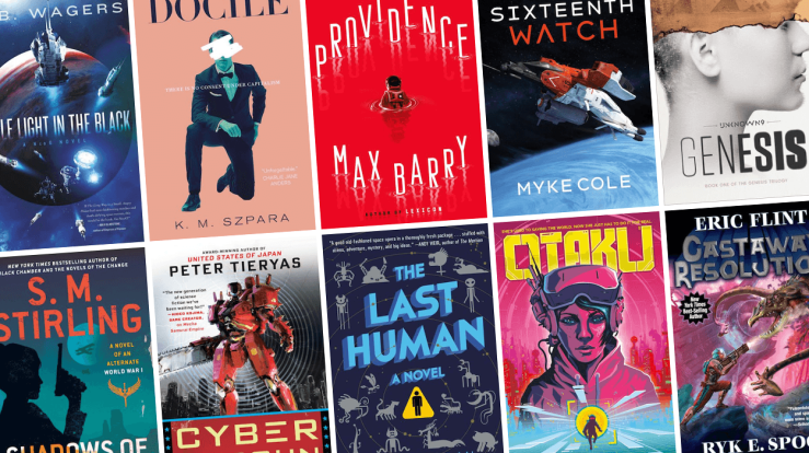Blog Post Featured Image - All the New Science Fiction Books Arriving in March!
