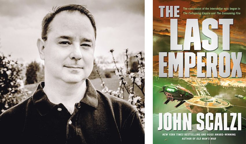 Meet John Scalzi on Tour for The Last Emperox!