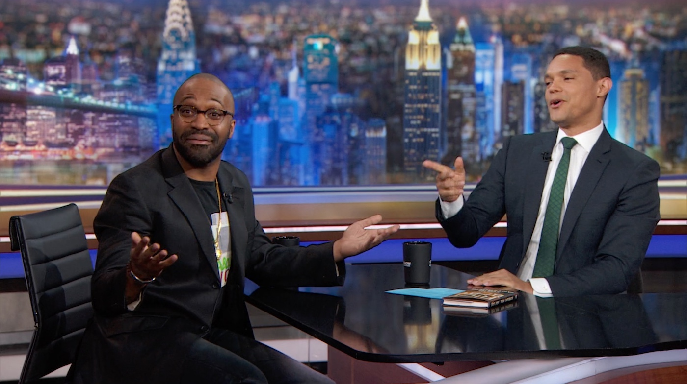Watch Author Tochi Onyebuchi Talk on The Daily Show About the Role of Sci-Fi/Fantasy in Modern Life