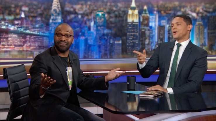 Blog Post Featured Image - Watch Author Tochi Onyebuchi Talk on The Daily Show About the Role of Sci-Fi/Fantasy in Modern Life
