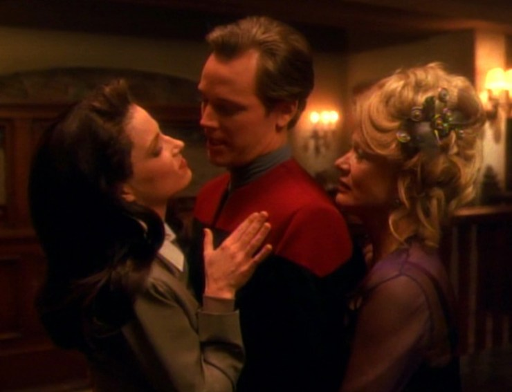 Tom Paris on the Holodeck in Star Trek: Voyager