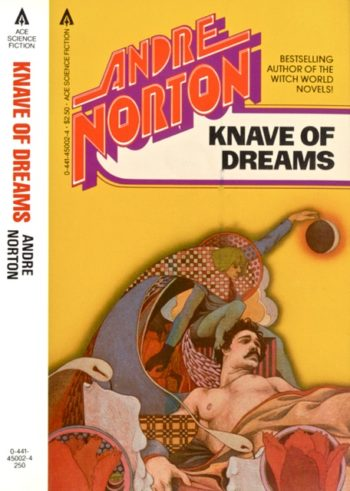 Blog Post Featured Image - Sliding From World to World in Andre Norton's Knave of Dreams