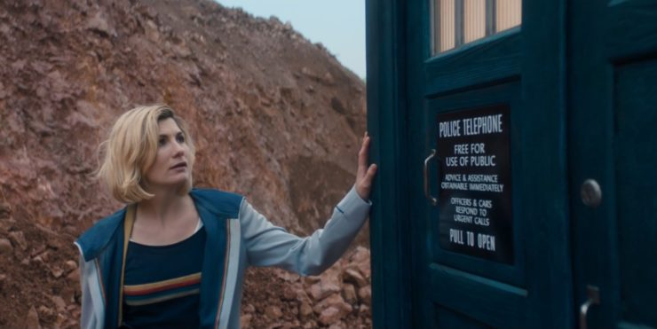 The Doctor Jodie Whitaker) in Doctor Who