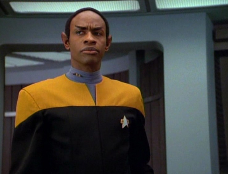 Tuvok (Tim Russ) in Star Trek: Voyager