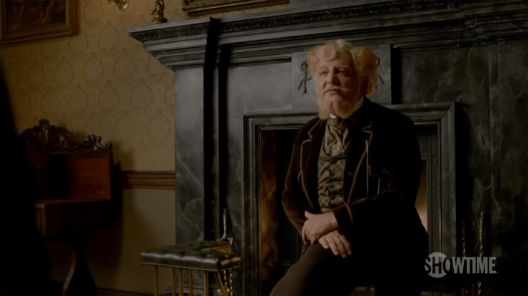 Dr Ferdinand Lyle (Simon Russell Beale) in Penny Dreadful