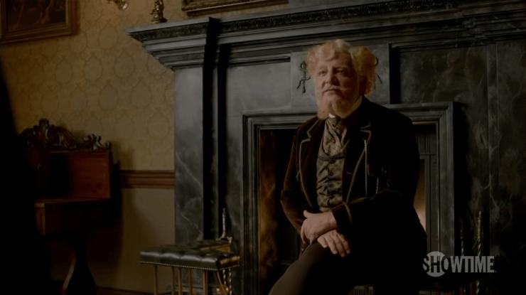 Dr Ferdinand Lyle (Simon Russell Beale) in Penny Dreadful