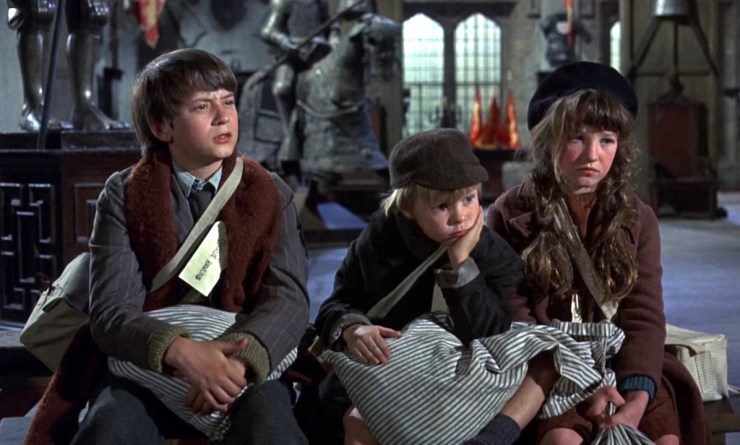 Bedknobs and Broomsticks, the Rawlins children