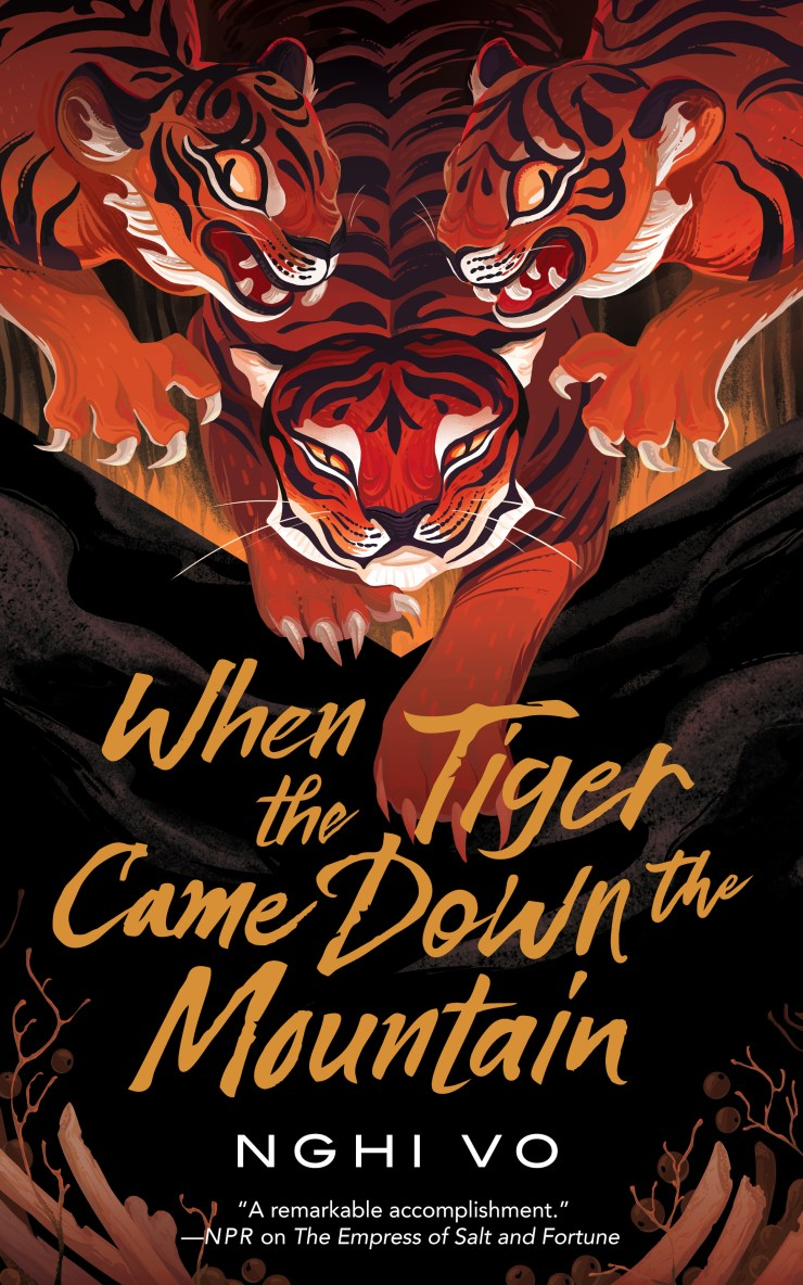 When the Tiger Came Down the Mountain cover art
