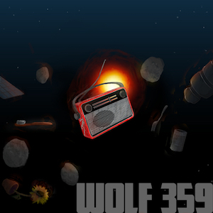 Wolf 359 logo long-running podcasts