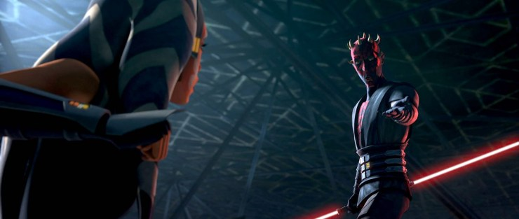 Star Wars: The Clone Wars, series finale, Maul offering his hand to Ahsoka