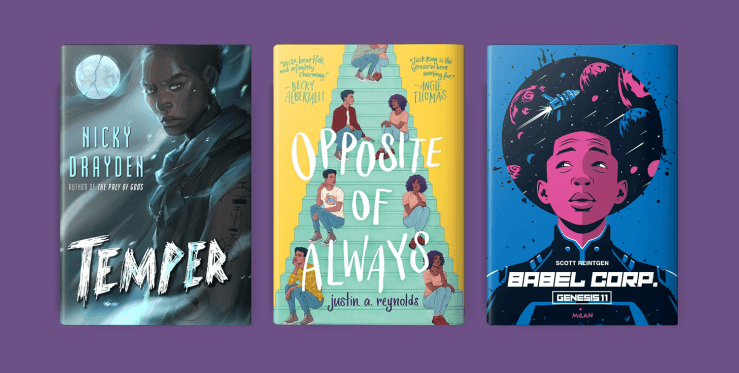Blog Post Featured Image - Where Are Our Black Boys on Young Adult Science Fiction and Fantasy Novel Covers?