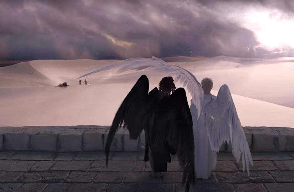 A Few of Our Favorite Angels in Fantasy Fiction
