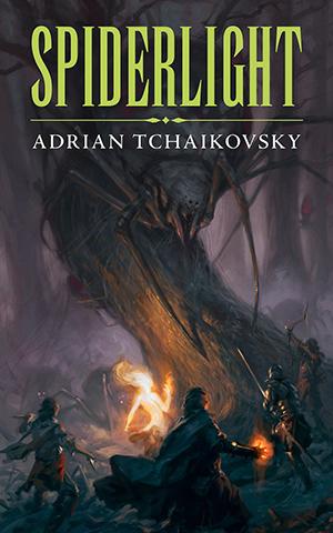 book cover: Spiderlight