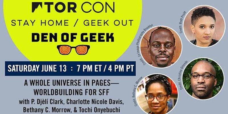 TorCon2020: A Whole Universe in Pages – Worldbuilding for SFF