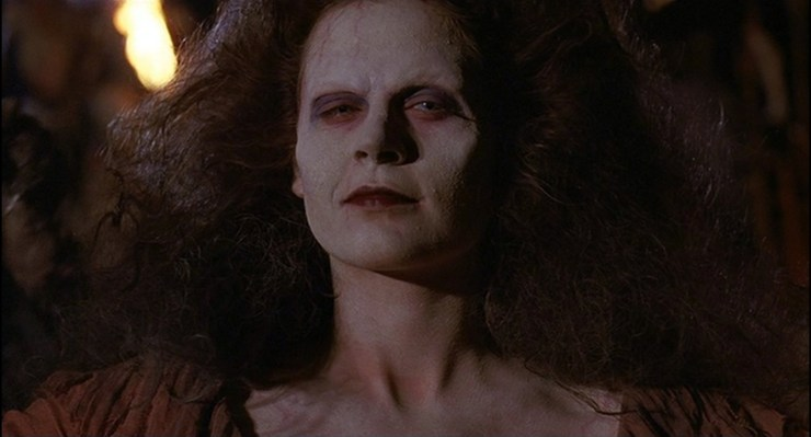 Sheila transformed into a deadite in Army of Darkness