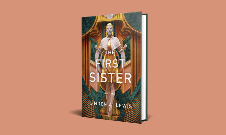 Blog Post Featured Image - A Promising Queer Space Opera: The First Sister by Linden A. Lewis