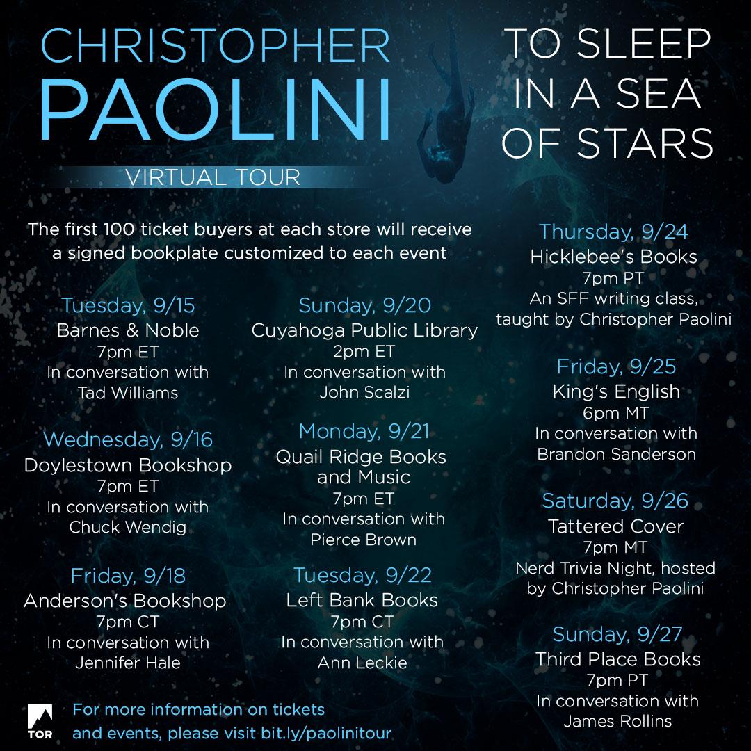 Christopher Paolini virtual tour