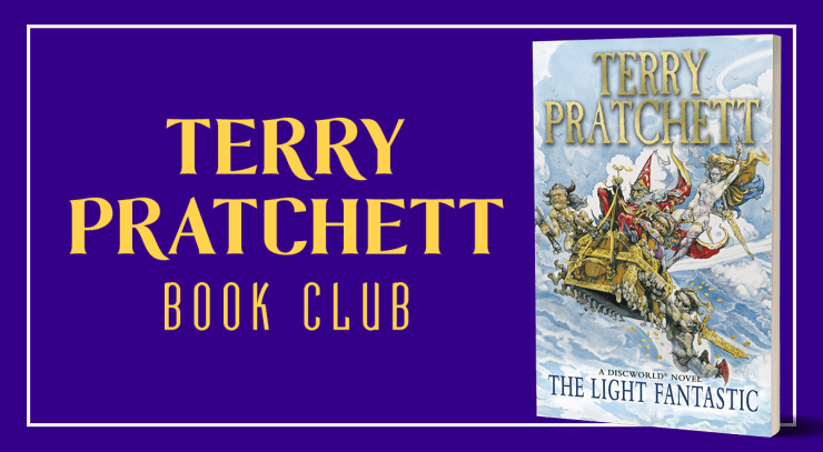 Blog Post Featured Image - Terry Pratchett Book Club: The Light Fantastic, Part IV