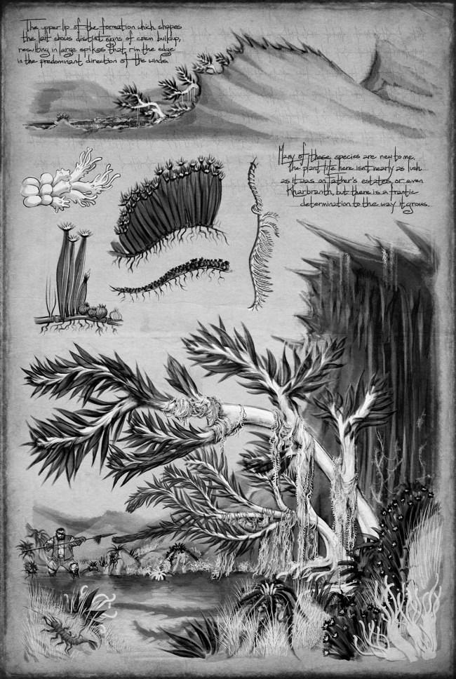 Shallan's sketch of a lait