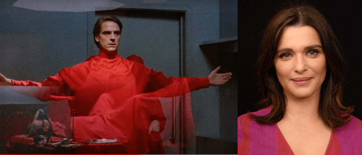 Rachel Weisz Will Play Jeremy Irons' Characters In Amazon's Dead Ringers Remake