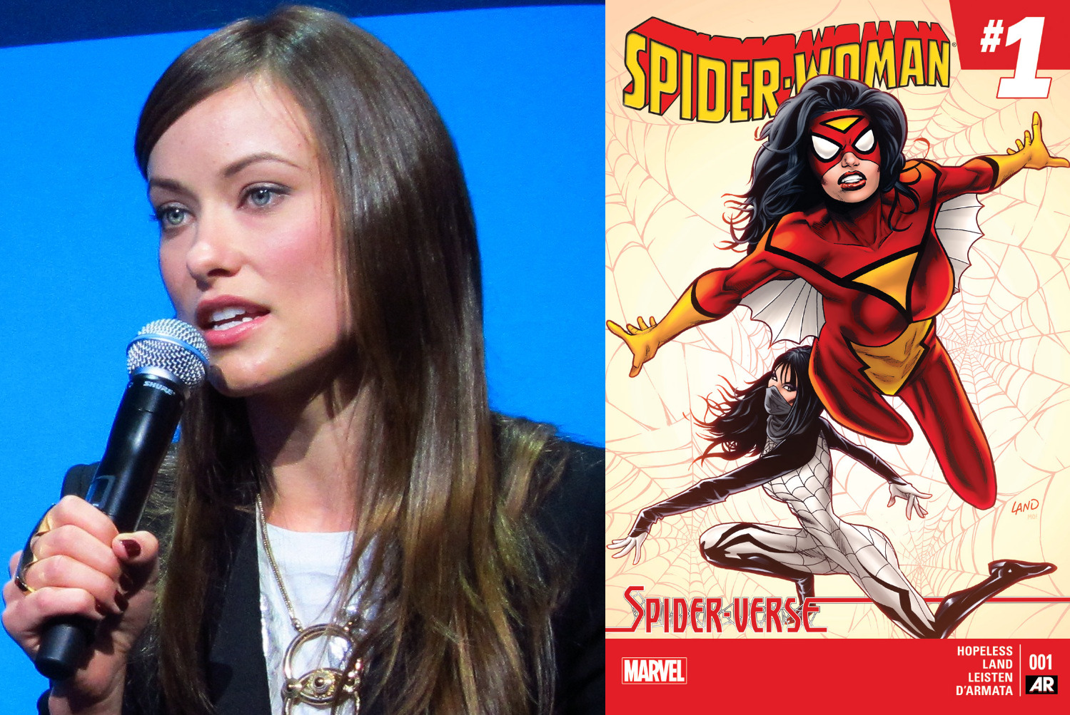Olivia Wilde Will Direct a Secret Marvel Movie (That's Probably Spider-Woman)