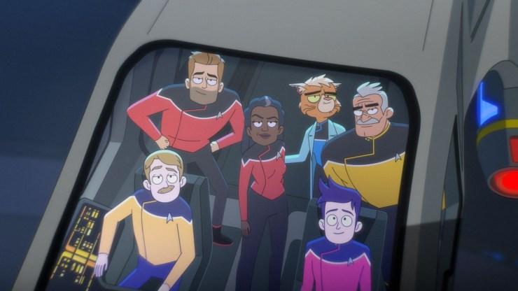"Star Trek: Lower Decks ""Crisis Point"""