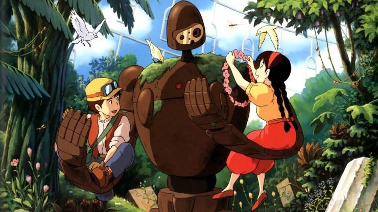 Studio Ghibli's Castle in the Sky