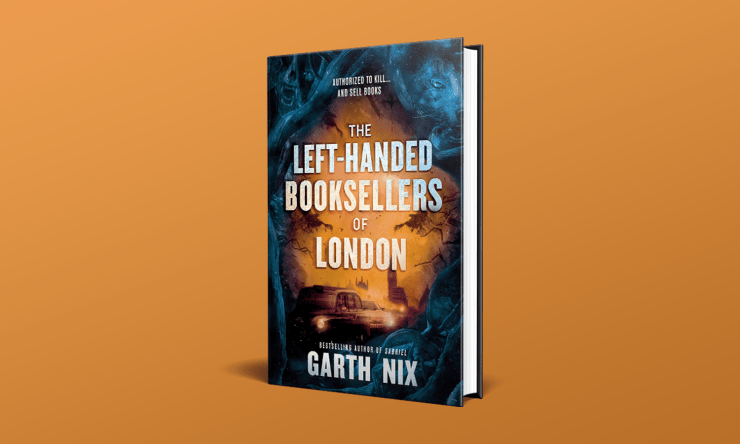 Blog Post Featured Image - A Different Kind of '80s Fantasy in Garth Nix's The Left-Handed Booksellers of London