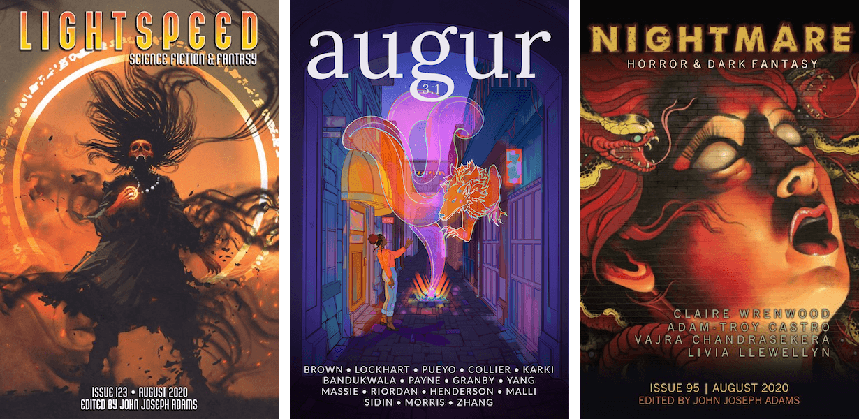 Must-Read Speculative Short Fiction: August 2020