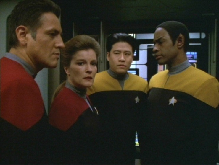 "Star Trek: Voyager ""Scorpion Part 1"""