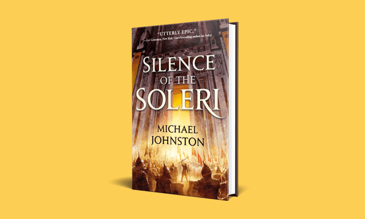 Blog Post Featured Image - Read an Excerpt From Michael Johnston's Silence of the Soleri