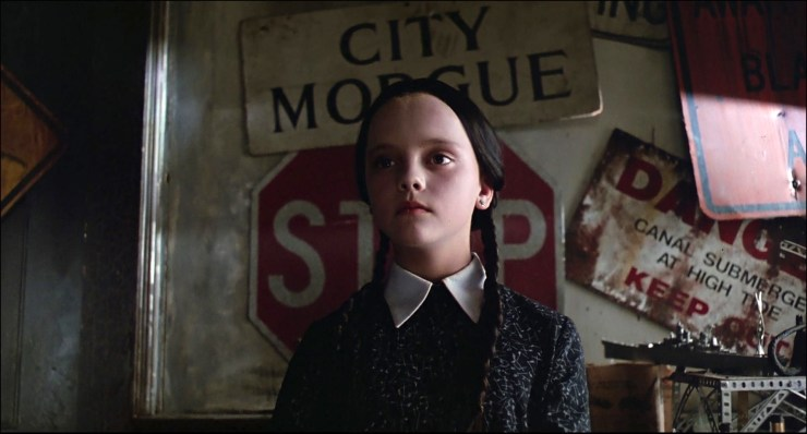 Wednesday Addams in The Addams Family 1991