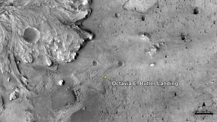 Blog Post Featured Image - NASA Honors Octavia Butler With Martian Landing Site