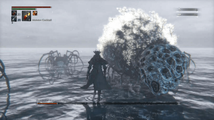 screenshot from the video game Bloodborne