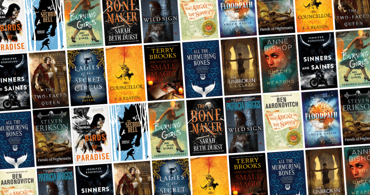 Blog Post Featured Image - All the New Fantasy Books Arriving in March!