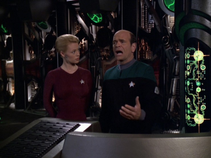 "Star Trek: Voyager ""Someone to Watch Over Me"""