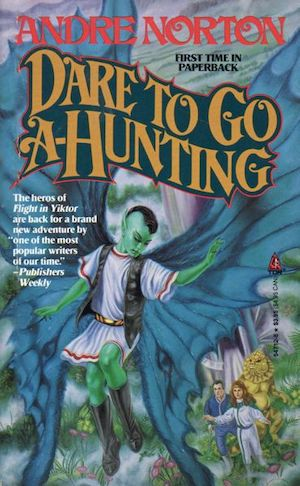Blog Post Featured Image - So Much Story, So Little Page Count: Andre Norton's Dare to Go A-Hunting