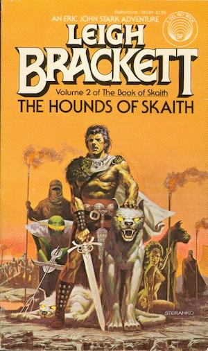 Blog Post Featured Image - Stark vs. the Curse of the Middle Volume: The Hounds of Skaith by Leigh Brackett