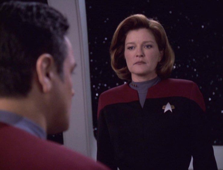 "Star Trek: Voyager ""Unimatrix Zero, Part I"""