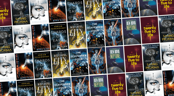 Blog Post Featured Image - All the New Science Fiction Books Arriving in August!