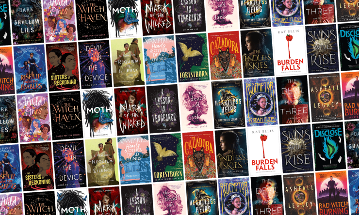 Blog Post Featured Image - All the New Young Adult SFF Books Arriving in August!