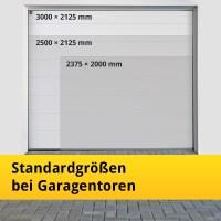 Standardgren bei Garagentoren machen Garagentore gnstig ...